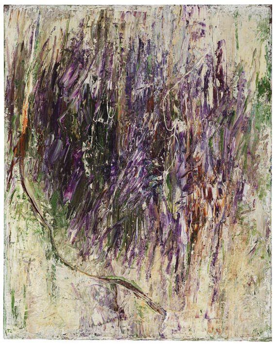 Gerhard Hoehme - Durchbruch des Violett