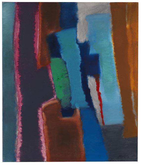 Fritz Winter - Kommendes Blau