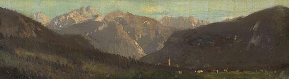 Carl Millner - Kleine Gebirgslandschaft