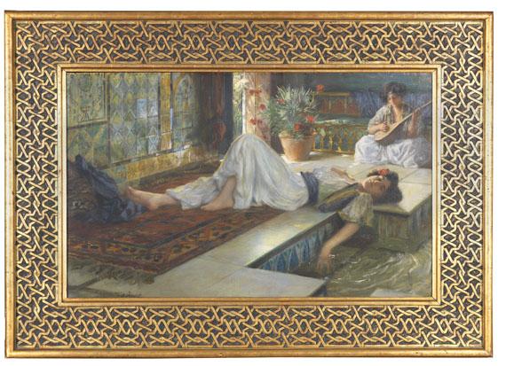 Ferdinand Max Bredt - Muße der Odalisken - Weitere Abbildung