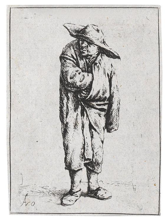 Adriaen van Ostade - Der Bauer im Mantel