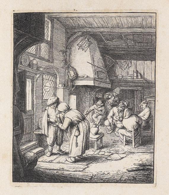 Adriaen van Ostade - Der Bauer, der seine Zeche bezahlt