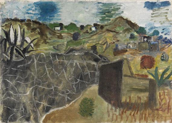 Werner Gilles - Ischia Landschaft