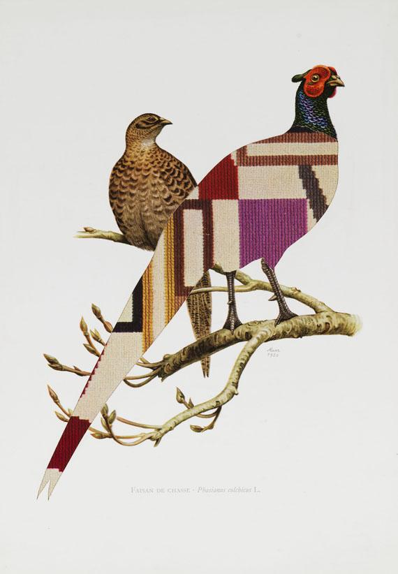 Jirí Kolár - Ohne Titel (Vögel) -