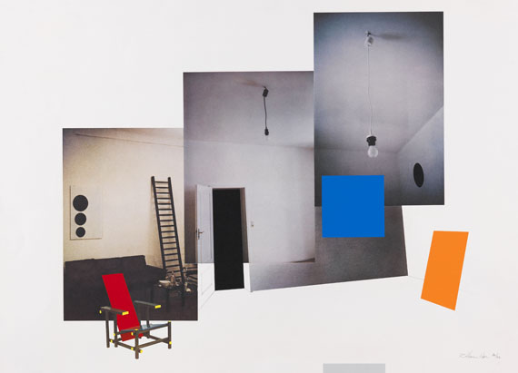 Richard Hamilton - Interior with monochromes