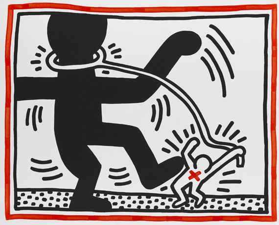 Keith Haring - Untitled 2