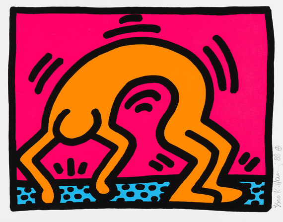Keith Haring - Pop Shop II