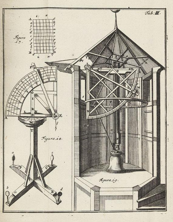 Johann Leonhard Rost - Astronomisches Handbuch. 1718. - Weitere Abbildung