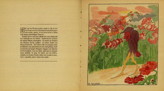 Aline Stickel - Hampelmanns Reise. 1923.