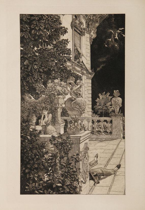 Max Klinger - Dramen. 1883. 2. Ausgabe. - Weitere Abbildung