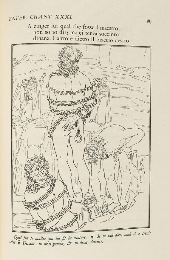 Dante Alighieri - La divine comédie. 3 Bde. 1922.