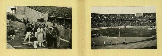 Olympische Spiele - Tebe Klein-Photothek (Fotoalbum Olymp. Spiele, 1936).