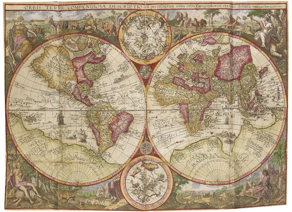 Jan Huygen van Linschoten - Itinerario, Voyage ofte Shipvaert. 1595-96. -