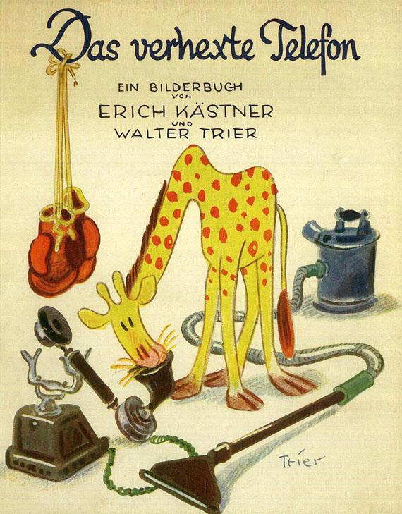 Erich Kästner - Kästner: Das verhexte Telefon. 1931.