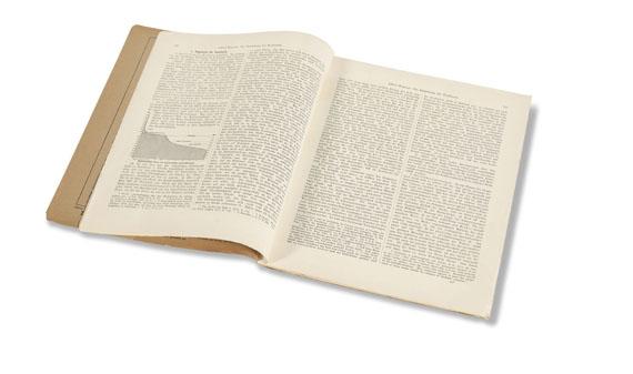 Alfred Wegener - Entstehung der Kontinente, in 3 Orig.-Hftn. 1912. - Weitere Abbildung