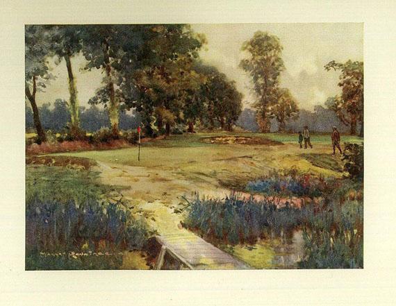 Sport - Darwin, Bernard, Golf Courses. 1910.