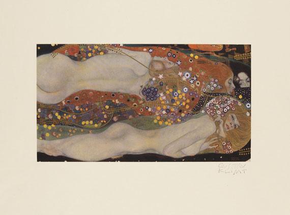 Gustav Klimt - Das Werk. 1918. -