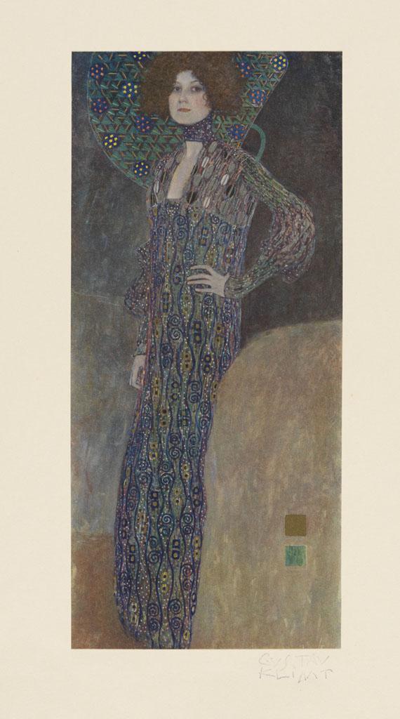 Gustav Klimt - Das Werk. 1918.