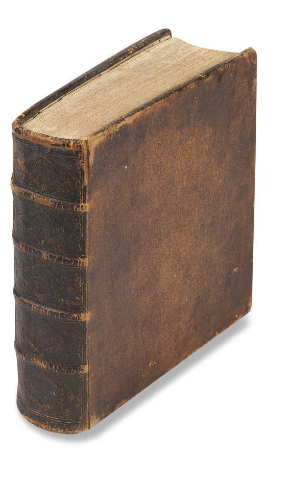 Johann Leonhard Rost - Astronomisches Handbuch. 1718. - Einband