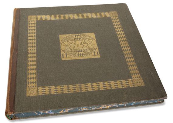 Gustav Klimt - Das Werk. 1918. - Cover