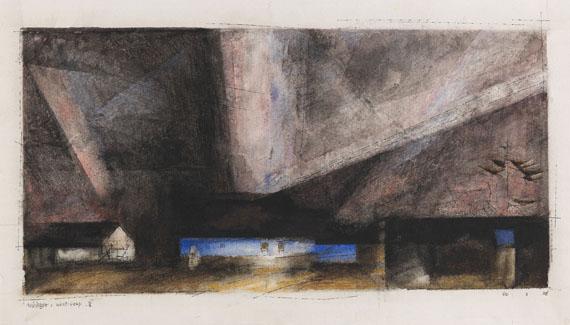Lyonel Feininger - West Deep III