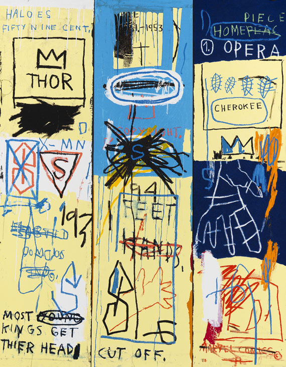 Jean-Michel Basquiat - Charles the First