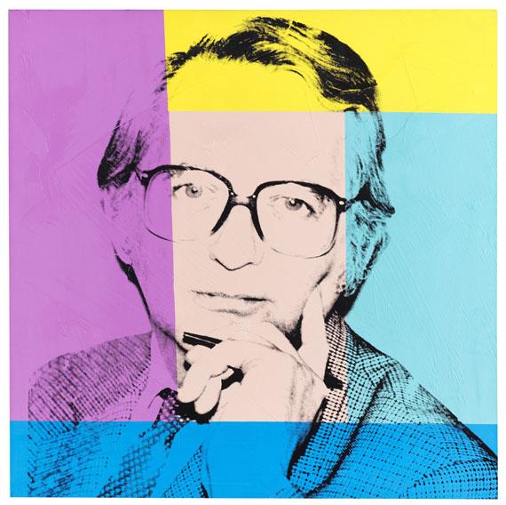 Andy Warhol - Porträt von Karl Ludwig Schweisfurth