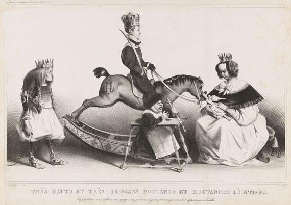 Honoré Daumier - Très hauts et très puissans moutards et moutardes légitimes