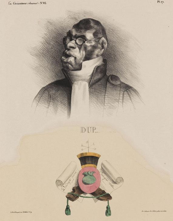 Honoré Daumier - Dupin Aîné