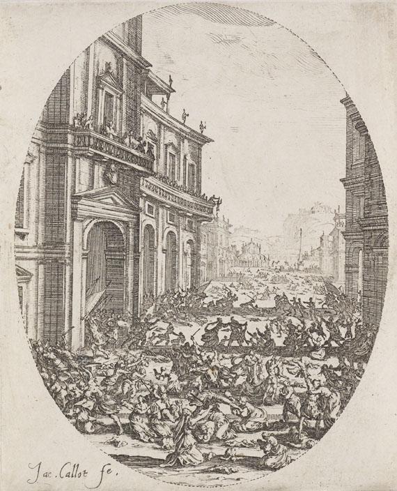 Jacques Callot - Le Massacre des Innocents (Der Bethlehemitische Kindermord)