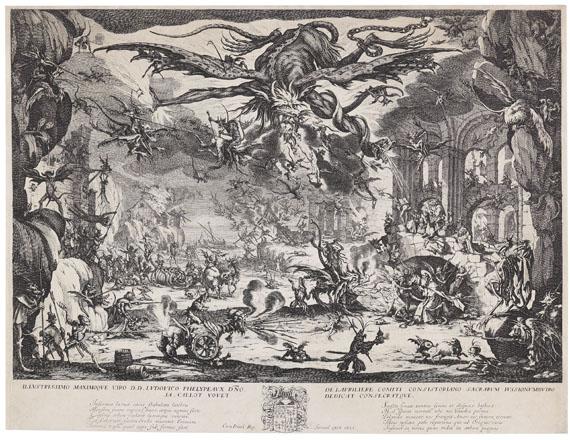 Jacques Callot - Die Versuchung des heiligen Antonius