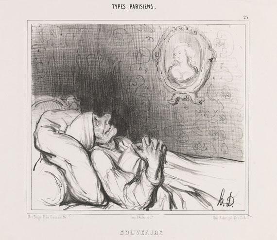 Honoré Daumier - Souvenirs