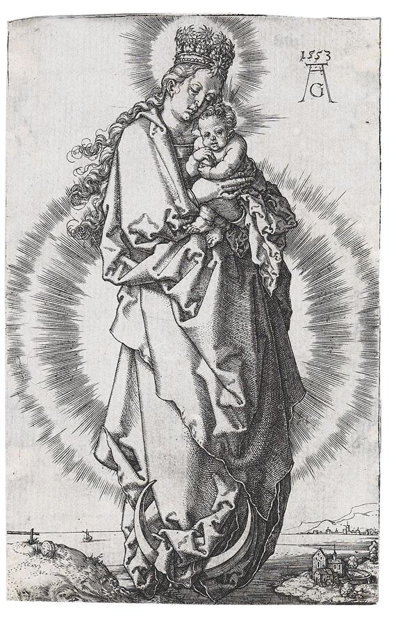 Heinrich Aldegrever - Maria mit der Sternenkrone