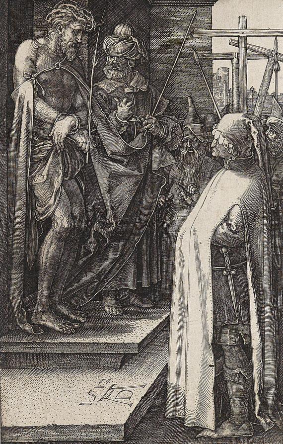 Albrecht Dürer - Ecce Homo. Blatt 8 aus der Kupferstich-Passion