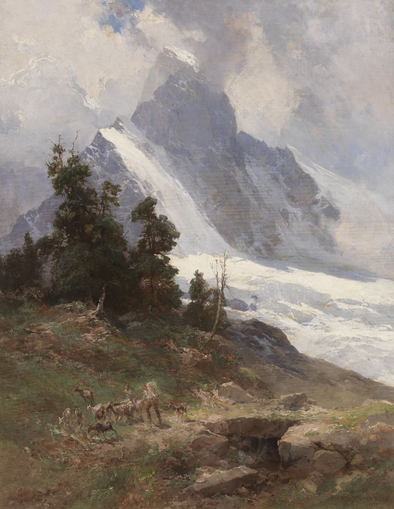 Edward Theodore Compton - Auftrieb am Matterhorn
