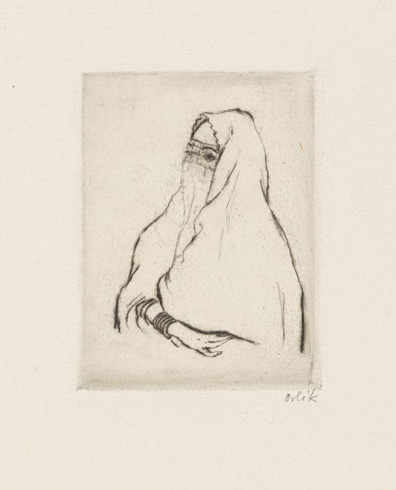 Emil Orlik - Aus Ägypten - Weitere Abbildung