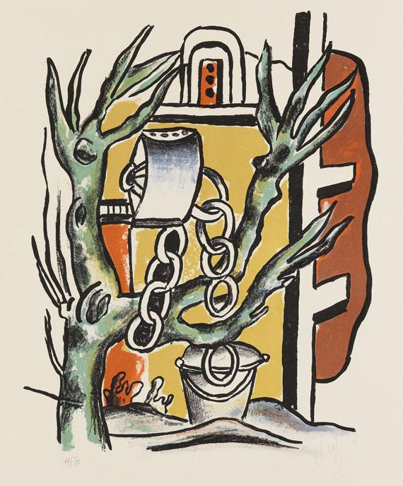 Fernand Léger - Le puits