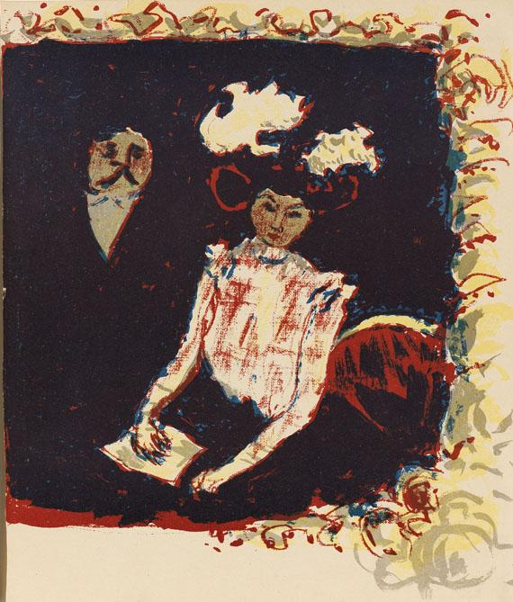 Pierre Bonnard - Frontispiz für: La lithographie en couleurs
