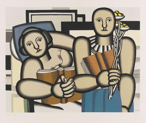 Fernand Léger - La Lecture