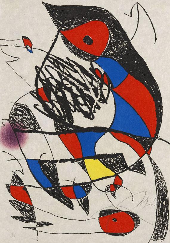 Joan Miró - Passage de L´Égyptienne