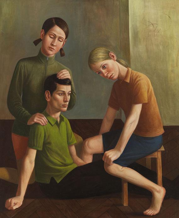 Matthias Ludwig - Zwei Mädchen, ein Junge