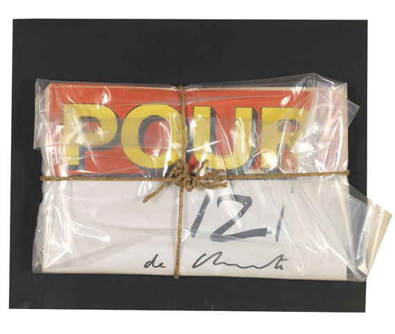 Christo - Pour Journal, Wrapped