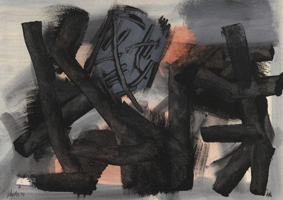 Fritz Winter - Vor Rot
