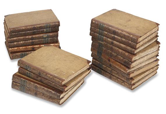 Georges Louis Leclerc Comte de Buffon - Natuurlyke Historie,1773 20 Bde.