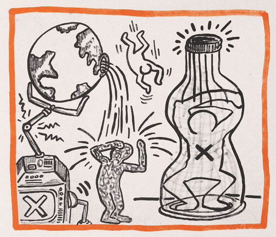 Ketterer kunst art auctions book auctions munich hamburg berlin keith haring against all odds 1990 malvernweather Image collections