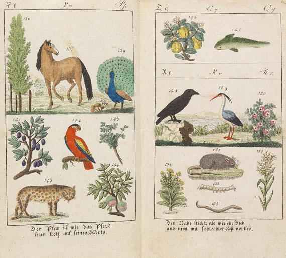 Karl Gottlob Hausius - Lese-Buch in Bildern (1805)