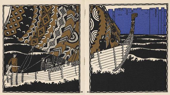 Carl Otto Czeschka - Die Nibelungen. 1908.