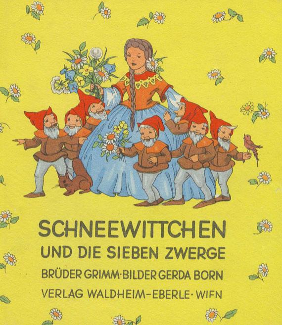 Kinderbücher - Konvolut von ca. 84 kleinformatigen Kinderbüchern. ca 1920-70