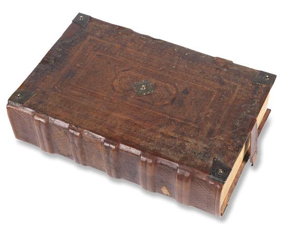 Plutarch - Vitae parallelae. Venedig 1478. - Weitere Abbildung