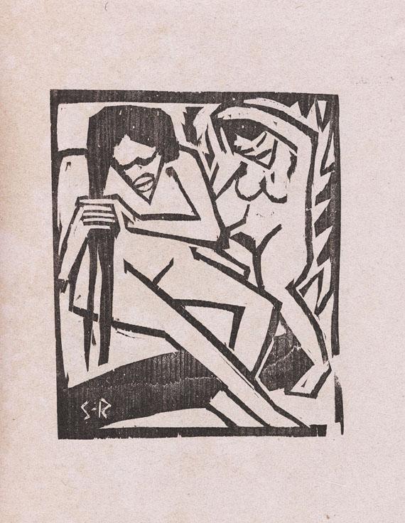 Brücke, Die - Katalog Austellung Brücke (mit Pechstein, Kirchner, Schmidt-Rottluff etc.) Berlin 1912